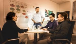 B-Horizon Team with CEO Mohammad Kabany